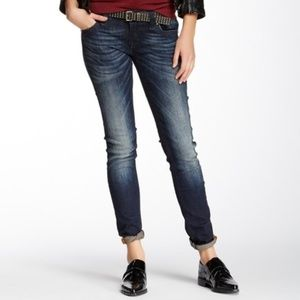 Rock Revival Cecilia Skinny Jeans Dark Wash